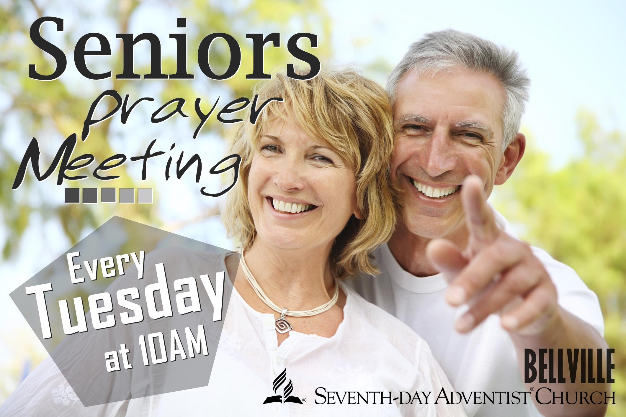 Bellville - Announcement: Seniors Prayer Meeting (SPM)