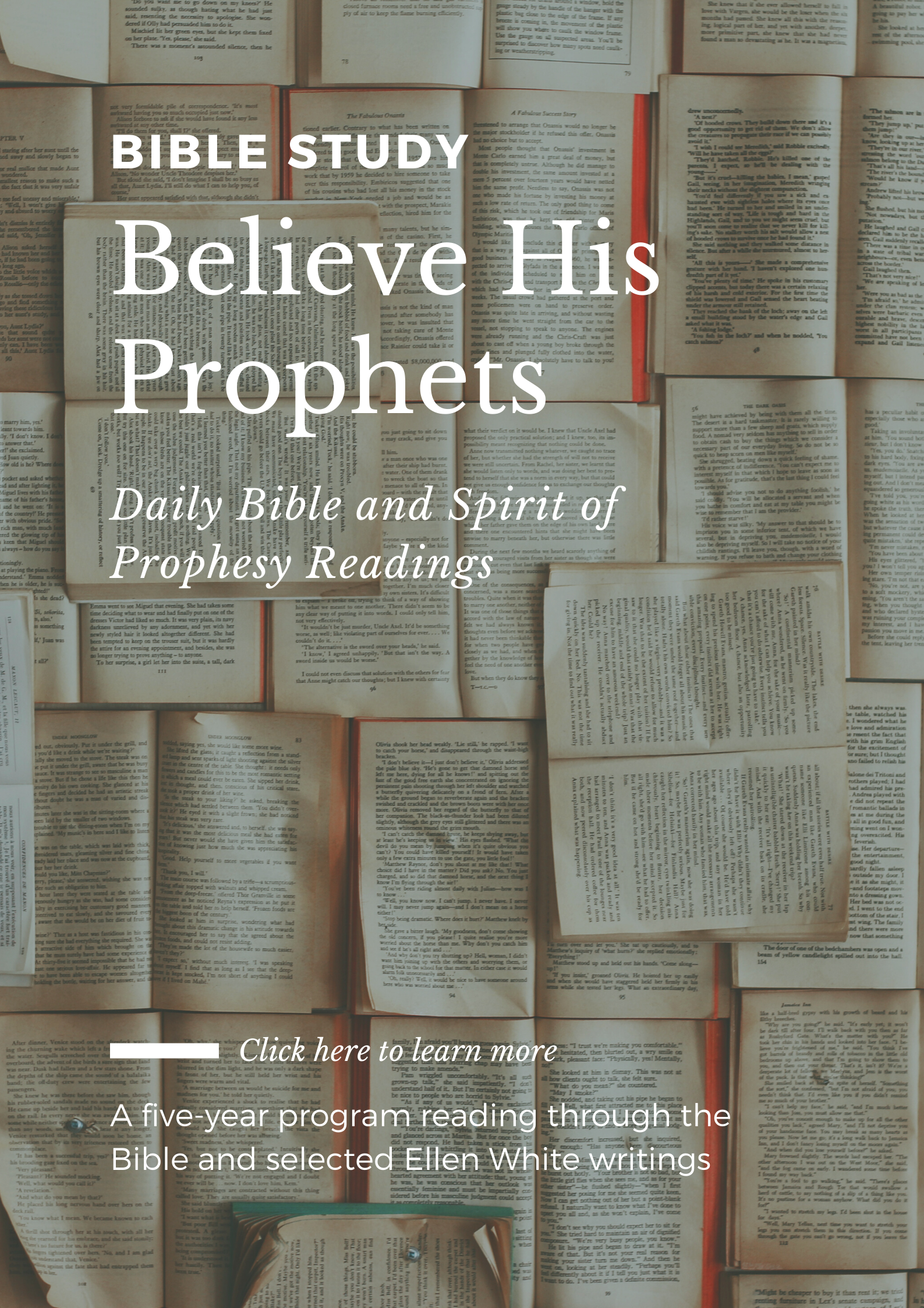 Daily Bible and Spirit of Prophesy Readings