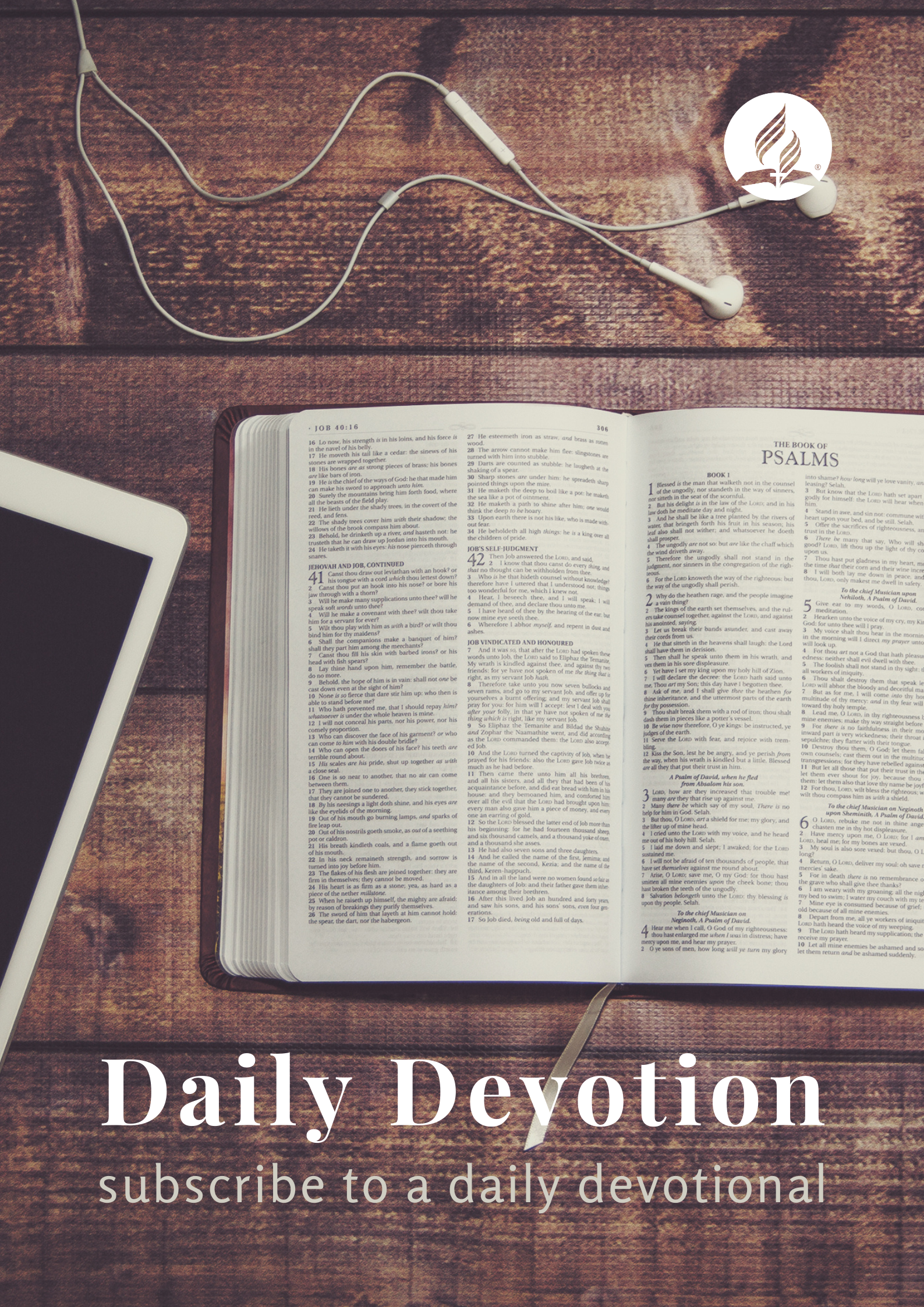 Sign-up for daily devotionals